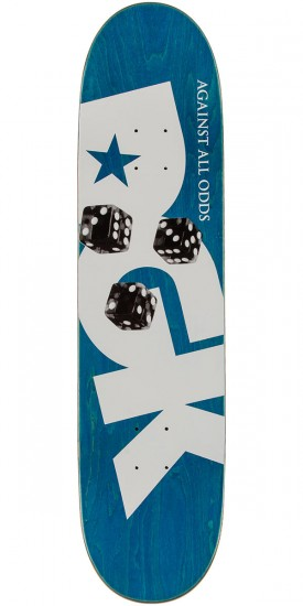 DGK Against All Odds Skateboard Deck - 8.06""
