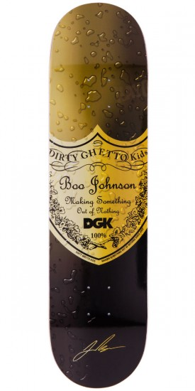 DGK Boo Johnson Bottle Service Skateboard Deck - 8.0""