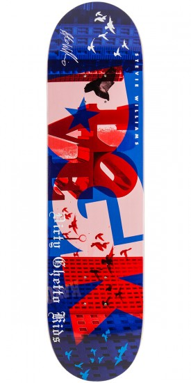 DGK City Of Dreams Williams Skateboard Deck - 7.9""