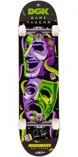 DGK Dane Vaughn Cry Later Skateboard Complete - 8.06""