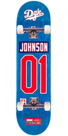 DGK Draft Picks Johnson Skateboard Complete - 8.10""