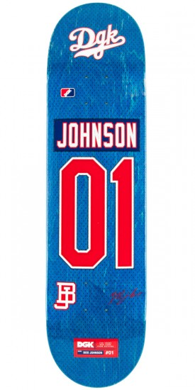DGK Draft Picks Johnson Skateboard Deck - 8.10""