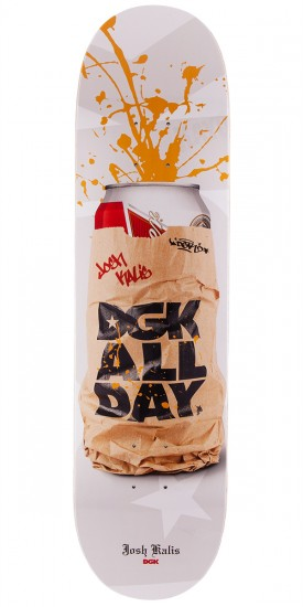 DGK Josh Kalis Spray Cans Skateboard Deck - 8.06""