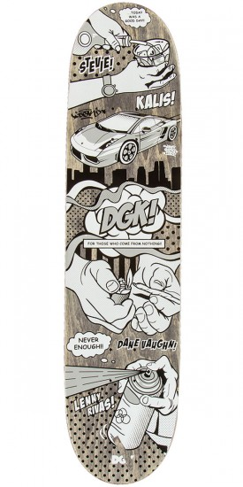 DGK Life of DGK Skateboard Deck - 8.06""