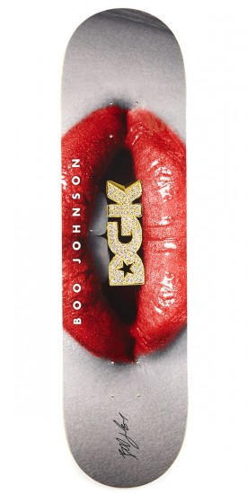DGK Lips Boo Skateboard Deck - 8.25""