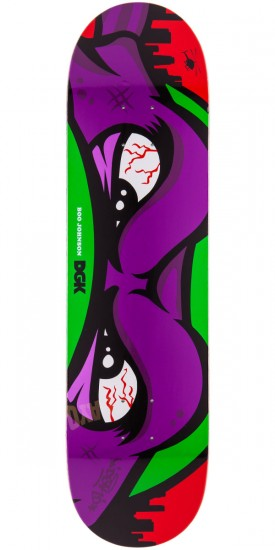 DGK My Ninja Boo Johnson Skateboard Deck - 8.1""