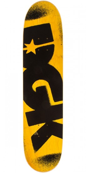 """DGK Price Point Skateboard Complete - 7.63"""" - Yellow"""