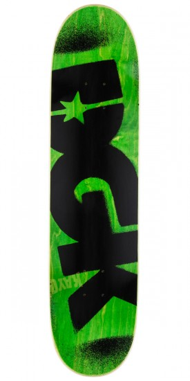 DGK Price Point Skateboard Deck - Green - 8.06""