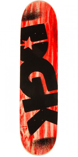 """DGK Price Point Skateboard Complete - Red - 8.25"""""""