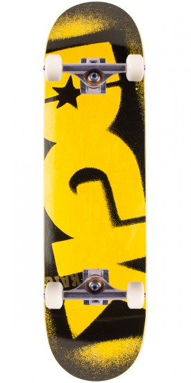 """DGK Price Point Skateboard Complete - Yellow - 8.5"""""""