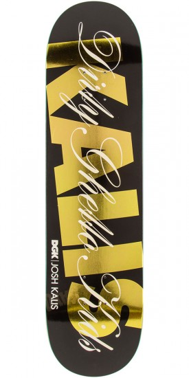 DGK Top Shelf Kalis Skateboard Deck - 8.1""
