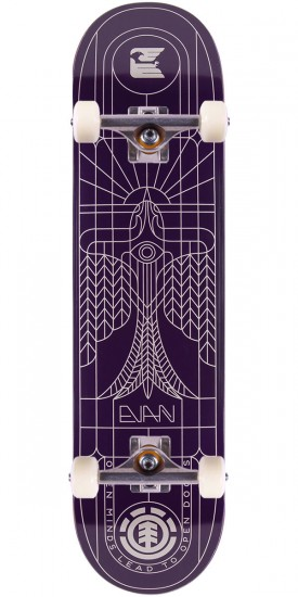 Element Evan Divulge Skateboard Complete - 8.0""