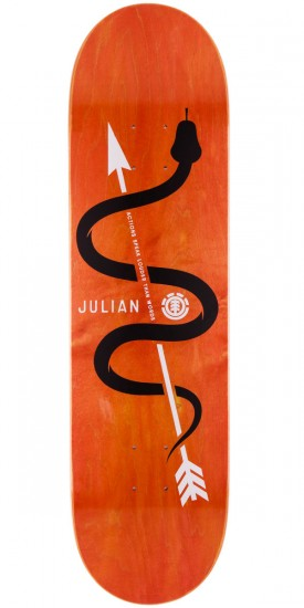 Element Julian Davidson Icon Skateboard Deck - 8.2""