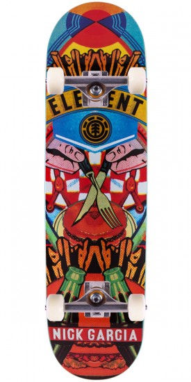Element Nick Garcia Big Bus Skateboard Complete - 8.30""