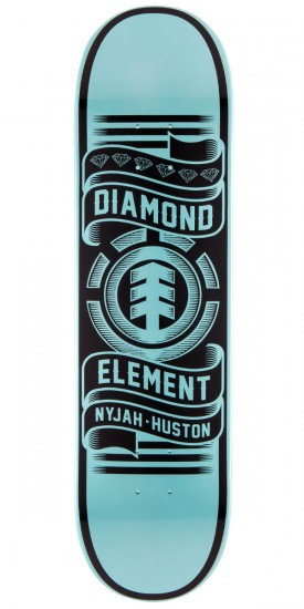 Element Nyjah Element X Diamond Skateboard Deck - 8.0""