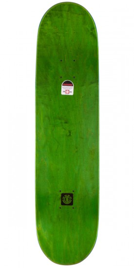 Element Nyjah Party Center Skateboard Deck - 8.12""