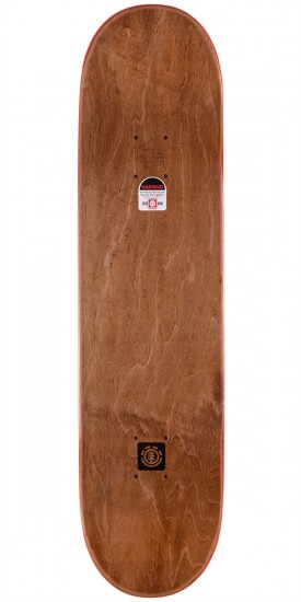 """Element Nyjah Party Right Skateboard Complete - 8.0"""""""