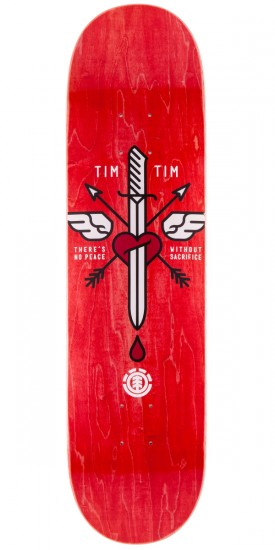 Element Tim Tim Icon Skateboard Deck - 8.0""