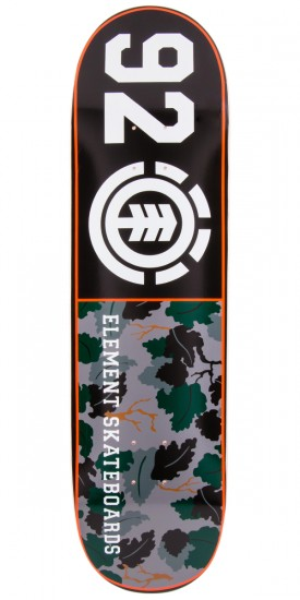 Element Wine Leaf Camo Skateboard Deck - 8.3""