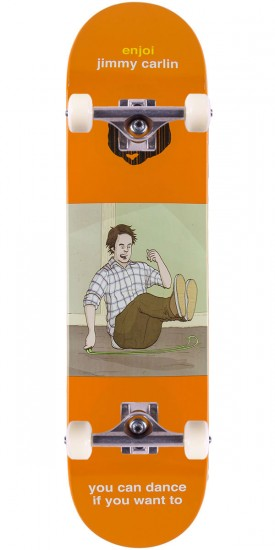 Enjoi Flashback IP Carlin Skateboard Complete - 7.75""
