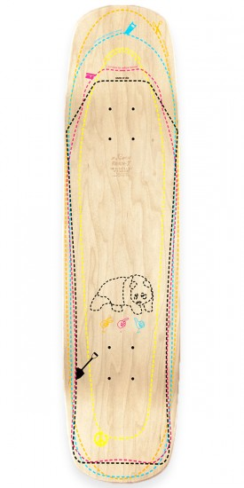 Enjoi Hip To Be Square R7 Skateboard Complete - White - 8.375