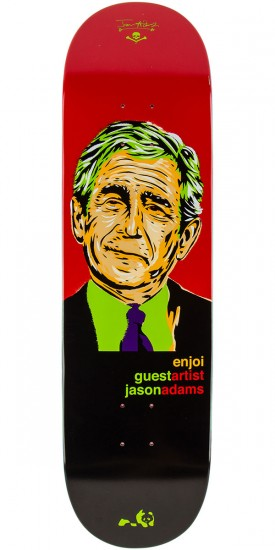 Enjoi Presidents R7 Adams Skateboard Deck - 8.5""