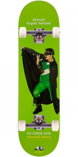 Enjoi Berry Almost Super Heroes Impact Light Skateboard Complete - 8.25""