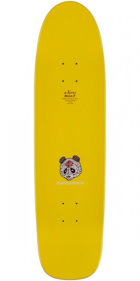Enjoi Funstick Skateboard Deck - Yellow/Red - 8.625""