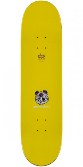 Enjoi Tiqueyo Skateboard Complete - Blue/Yellow - 8.25""