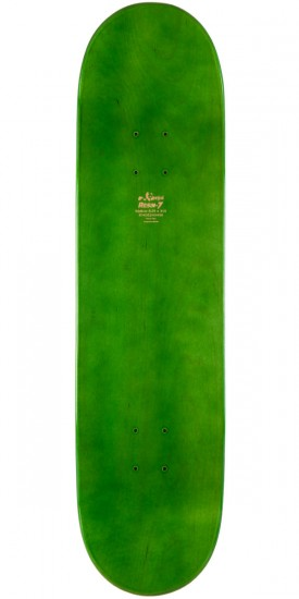 Enjoi Sprayed Spectrum Skateboard Complete - Green - 8.25""