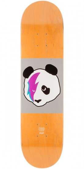 Enjoi Stardust Panda R7 Skateboard Deck - Orange Stain - 8.0""