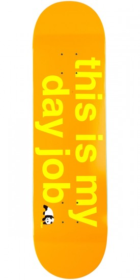 Enjoi This Is My Day Job R7 Skateboard Deck - Orange - 8.25""