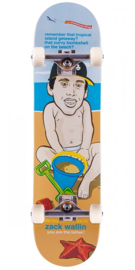 """Enjoi Zack Wallin You Are The Father Skateboard Complete - 7.75"""""""