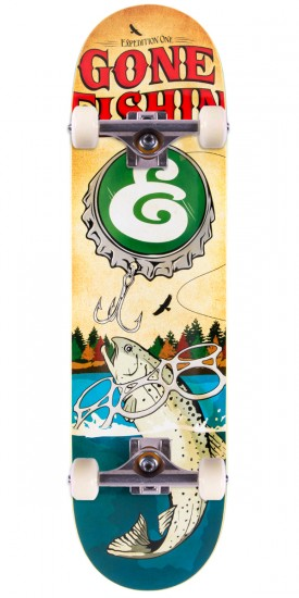 Expedition Gone Fishin Skateboard Complete - 8.38""