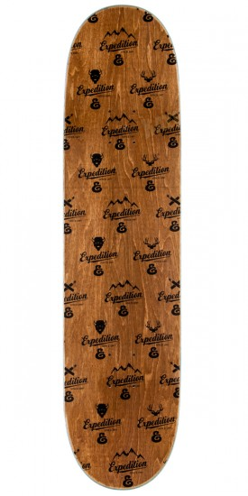 Expedition Joey Pepper Plaid Skateboard Deck - 8.06""