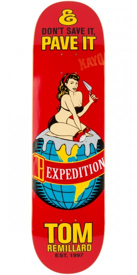 Expedition Pave It Remillard Skateboard Deck - 8.25""