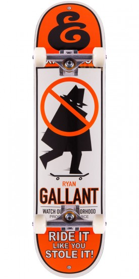 """Expedition Ryan Gallant Stole It Skateboard Complete - 8.00"""""""