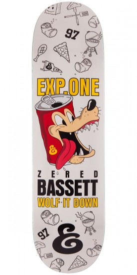 Expedition Zered Bassett Wolf It Down Skateboard Deck - 8.25""