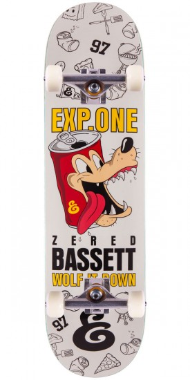 Expedition Zered Bassett Wolf It Down Skateboard Complete - 8.25""
