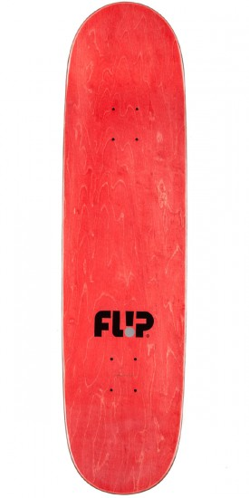 "Flip Burnquist Phoenix Shield Skateboard Complete - 8.50"" - Red Stain"