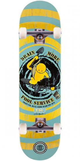 Flip Mountain Drain More Pools Skateboard Complete - 8.63""