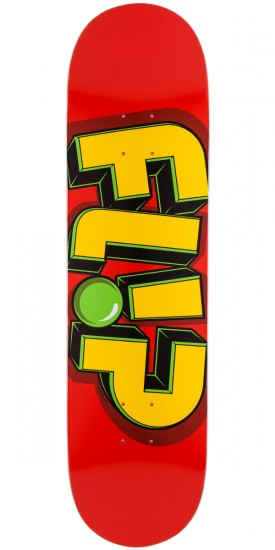 Flip Odyssey Jumbled Skateboard Deck - Red - 8.00""