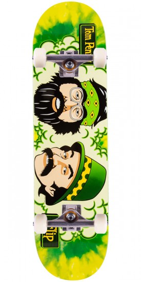 """Flip Penny Cheech and Chong Green Room Skateboard Complete - 8.13"""""""
