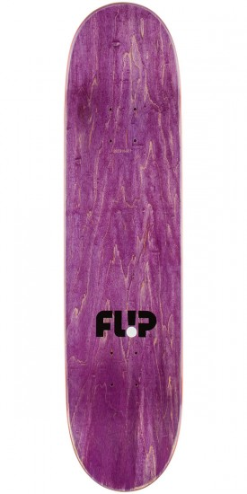 Flip Penny Pop Dots Skateboard Complete - Purple - 7.75