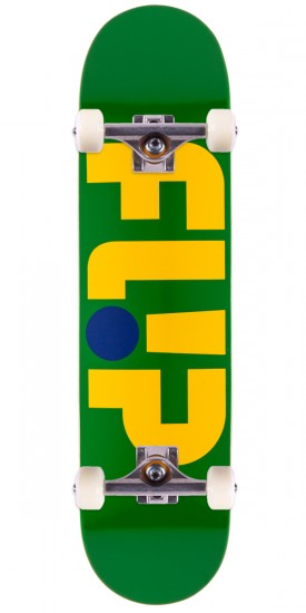 "Flip Team Odyssey Series Skateboard Complete - 7.88"" - Green"