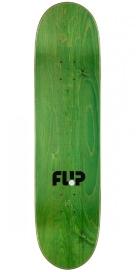 Flip Team Odyssey Series Skateboard Deck - Red - 8.0""