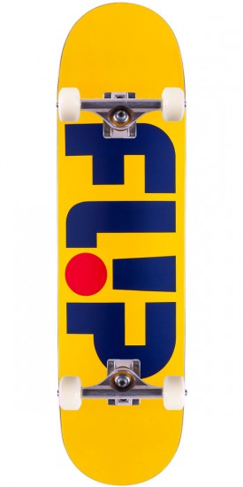 Flip Team Odyssey Series Skateboard Complete - Yellow - 8.25""