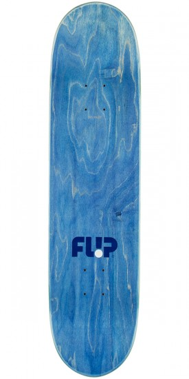 Flip Team Odyssey Stencil Skateboard Deck - Blue - 8.0""