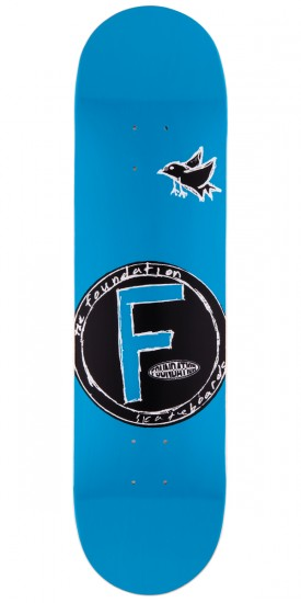 Foundation Bird Price Point Skateboard Deck - Blue - 8.0""