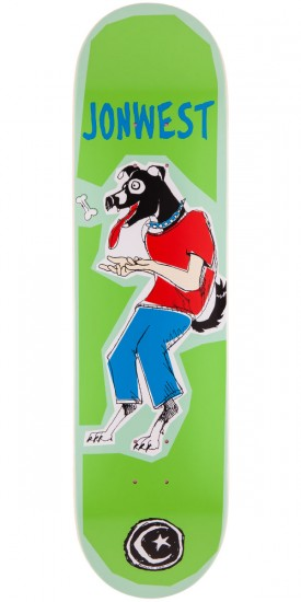 Foundation Jon West Dog Boy Skateboard Deck - 8.25""